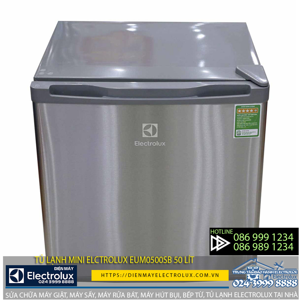 Có nên mua tủ lạnh mini Electrolux EUM0500SB 50 lít?