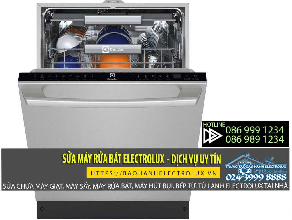 Sửa máy rửa bát Electrolux giá rẻ