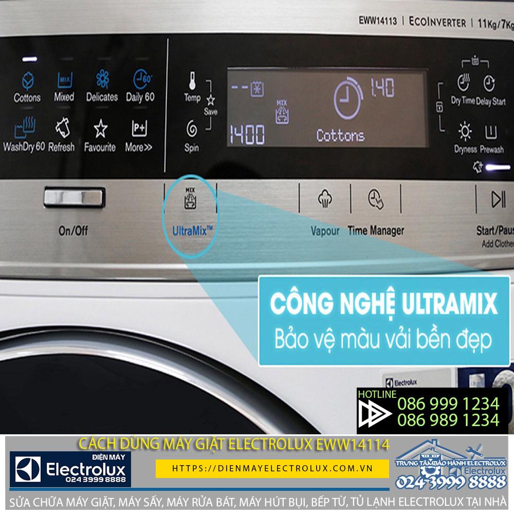 Hướng dẫn sử dụng máy giặt Electrolux eww14113 với vài bước đơn giản