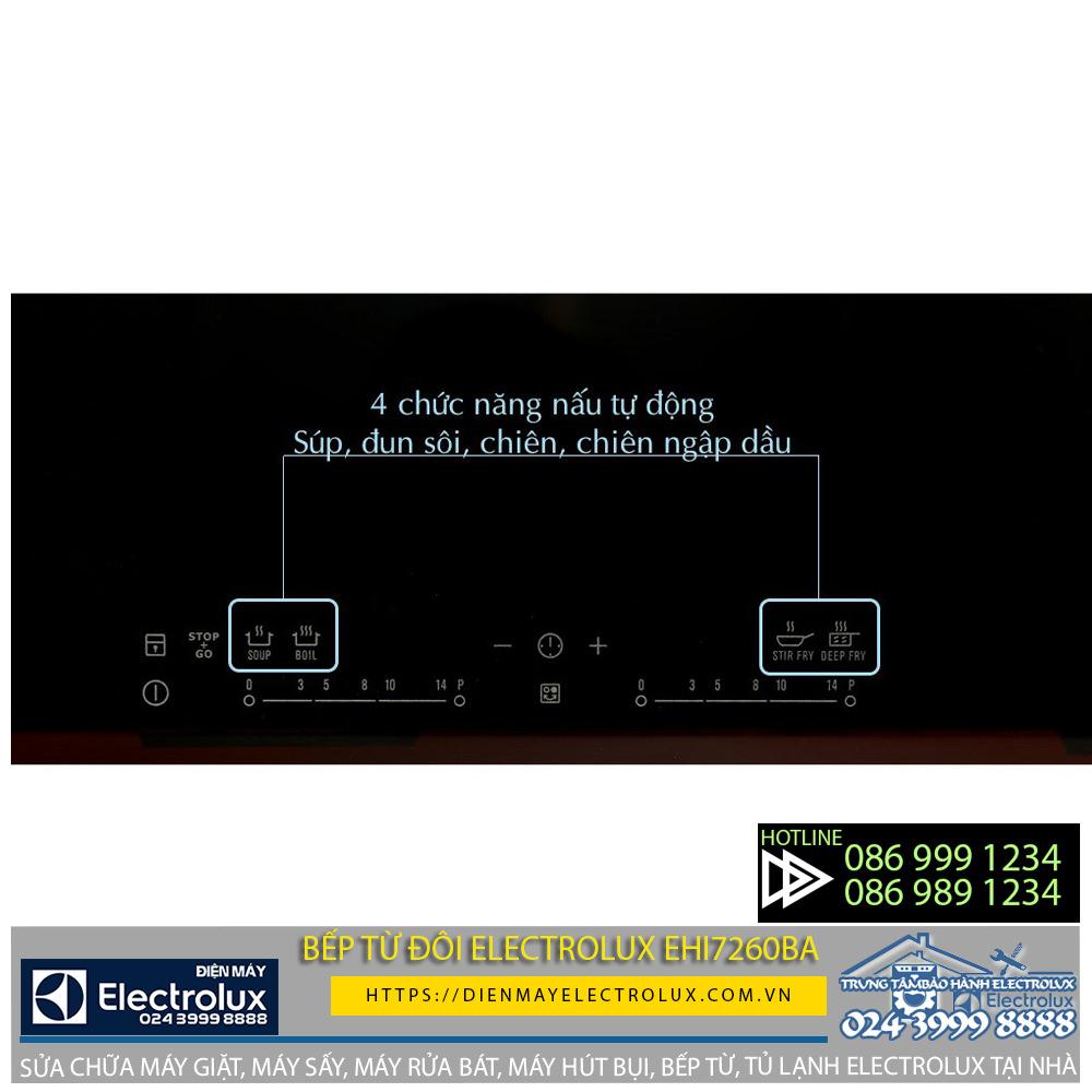 Đánh giá bếp từ đôi Electrolux EHI7260BA